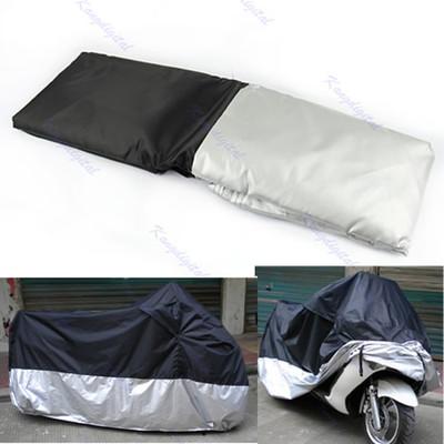 J35 Free Shipping Waterproof Outdoor UV Protector Motorbike Rain Dust Bike Motorcycle Cover XXL(China (Mainland))