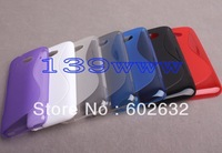 20pcs/lot free shipping Desire 601 S Line case, New S type Soft TPU Case For HTC Desire 601 Via