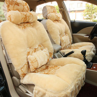 11 pcs/set Winter car seat cushion ste tare panda cartoon cushion leaves flower car covers suppliers PASSAT seat covers