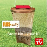 Wholesale Flies Away Safe Non-toxic Effective Fly Catcher As Seen On TV 72 PCS/lot free shipping F0214