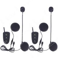 2013 NEW!!! 2pcs/lot!!!FM 200M Motorcycle BT Bluetooth Multi Stereo Interphone Headsets headset Helmet Intercom Handfree