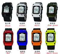1pc/lot 50m Waterproof Colorful Jelly Silicone Band Skmei Watches ChildrenShock Resistant Digital LED Kids car watches