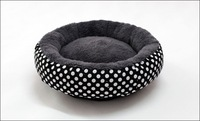 1 pcs Free shipping!pumpkin Autumn and winter dog bed  mat cat litter pet nest cat house pet supplies polka dot Diameter 40CM