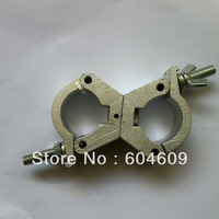 Stage lights hook bearing 100kg aluminum alloy lifting belt hook double buckles for pipe aperture:28-35mm