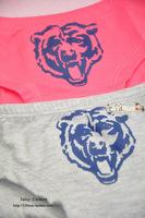2014 new bear printing women sexy underwear; girl's lovely cotton briefs; panties & lingerie;secret calcinha ; VS pink