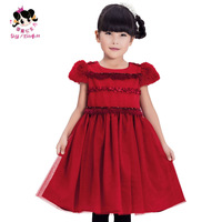 Princess children's clothing female child autumn 2013 child one-piece dress princess dress puff skirt