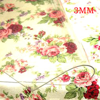 F&C free shipping to USA 3.00mm 50cm*10cm Soft glass cloth transparent crystal PVC Tablecloth waterproof disposable