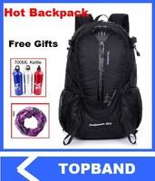 Waterproof Backpack Western Style Backpack Cycling Outdoor Backpack Men Camping Bag Casual Backpack Women Travel Bags Free
