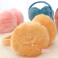 Ann at home foldable earmuffs women's thermal plush earmuffs ear package earmuff autumn and winter