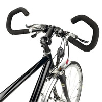 Germany HUMPERT X-ACT bicycle handlebar adjustable butterfly folding put the rest of the long-distance