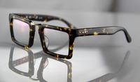 Free shipping Tortoiseshell three-dimensional cutting sheet metal sunglasses