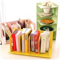 brief fresh multifunctional diy wool cd books desktop storage rack cd shelf