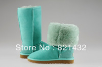 Free Shipping High Quality 2013 Australia Brand Snow Boots Women Winter boots tall canister boots 6 color 5815