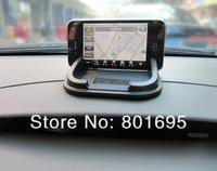 Free shipping  phone holder car anti slip mat PU GPS navigation holder Magic Sticky for phone MP4 MP3