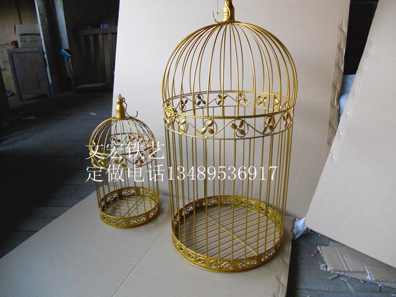 Online kopen wholesale goud vogelkooi uit china goud vogelkooi groothandel - Decoratie kooi ...