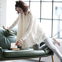 2013 aesthetic lace maternity clothing maternity dress shirt big skirt one-piece dress loose t-shirt 0522