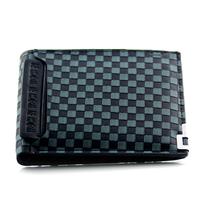 1 fashion male wallet plaid wallet man Handbags