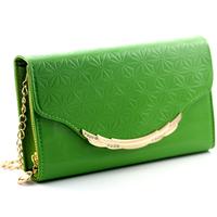 Female fashion quality solid color handbag bag women's bag