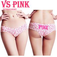 2013 new women sexy underwear; girl's lovely leopard cotton briefs; panties & lingerie;secret calcinha ; VS pink