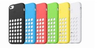 5c shipping original mobile phone shell mobile phone shell protective sleeve Silicone Case 6 colors