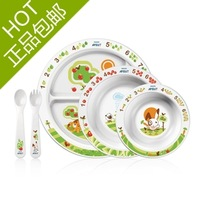 Free Shipping New avent children learning to walk baby set cutlery 71600