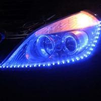 free shipping Led strip light led lighting light eyebrow decoration lamp dacryops lamp car decoration lamp 60cm