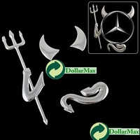 New arrive New 3D Devil Style Demon Sticker Car Emblem Logo Paper wholesale