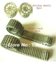 Henglong  3818/3818-1/3819/3819-1 1/16 RC tank  upgrade parts  metal driving wheels  and metal track free shipping