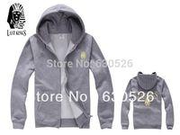 2014 Free Shipping sale off Last Kings Hoodies WHITE  GREY Red Black winter Hoodies Fashion Hoodies Cotton Hoodies size:m~3xl