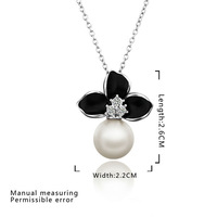 Free shipping 2013 New Necklace Pendant Crystal Jewelry High Quality 18K Gold fashion jewelry wholesale price E688