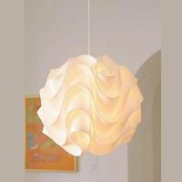 Modern pp lamp art wave ball pendant light+E27 lamp holder+ceiling base+wire
