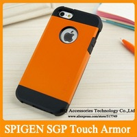 MOQ:1PCS Korean Style New SPIGEN SGP Touch Armor Case for iphone 4 4G 4S Iphone4S Tough Armor Cases Free Shipping