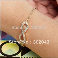 Free shipping Christmas gift  accessories cross  bracelet female, Crystal bracelet
