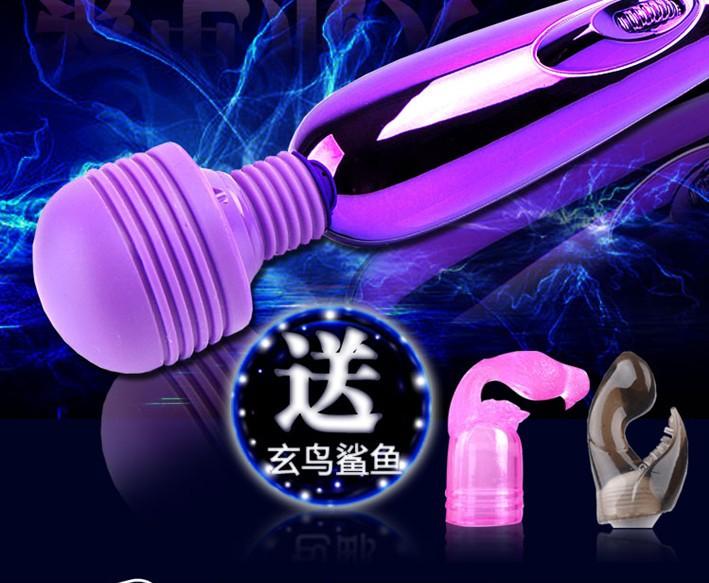 Multi-Speed AV Vibrator purple,Clit Vibration,Vibrating Vibe Personal Massager Stick,Women Masturbation toys(China (Mainland))