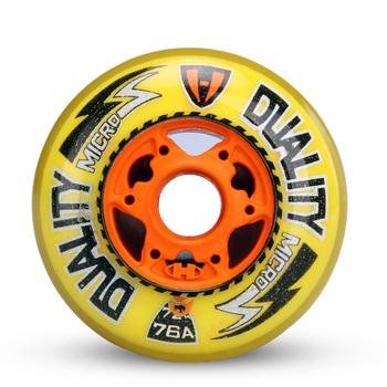 Good Inline Hockey Skates Wheel 76A, Freeshipping Hockey Wheel Land Ice Shoes Wheel High Wear-resistant Wheel