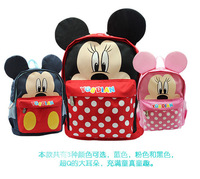 Students school backpacks kids children cute cartoon Mickey Mouse book bags for girls BOYS free shipping Y0037