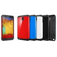 On sale SLIM ARMOR SPIGEN SGP case for Samsung Galaxy Note 3 III Shipping free MOQ:1pcs
