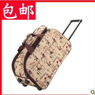 High Quality Fashion Rolling Luggage Large Capacity Travel Trolley Luggage free shipping 1503(China (Mainland))