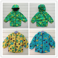 Free Shipping 2013 Autumn Children Clothing Branded Hooded Coat Baby Fashion Wind Proof Jackets 2-4 Years Boys Outerwear