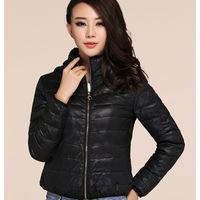 Women's down coat female short design slim Women winter down coat top outerwear