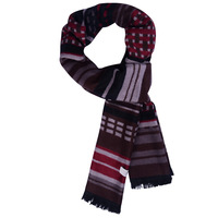 Aoken male thick pure silk mulberry silk scarf commercial paragraph elegant male long scarf