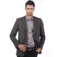 Aoken wool blending fabric 2012 autumn new arrival business casual single