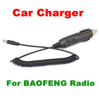 Free Gift BAOFENG two way radio Car Charger Cable For walkie talkie BFUV5R UV-5RA 5RB 5RC 5RD 5RE 5REPLUS TYT THF8 Black present