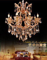 Free Shipping Wholesale Luxury Maria Theresa Full Lead Crystal Chandeliers Lamp / Light / Lighting Fixtures (Model:CC-N135-6)