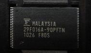 MBM29F016A-90PFTN     FUJITSU    500PCS