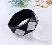 South Korea retro metal frosted geometric aspect more open wide bracelets free shipping 2013