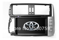 "8"" 2-Din In Dash Car DVD Player GPS Navigation for Toyota Prado 2010-2012 with SWC TV Free Map USB Bluetooth Radio Stereo Audio"