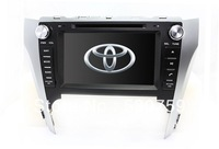 "8"" In Dash 2-Din Car DVD Player for Toyota Camry 2012 with GPS Navigation Radio Bluetooth TV Map USB AUX Stereo Auto Video Audio"