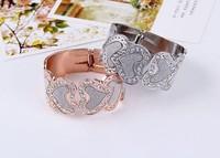 South Korea fashion bracelets wide-brimmed frosted love bracelet free shipping MMB-0035