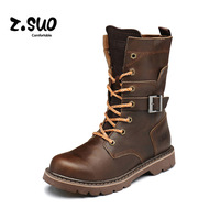 The trend of female shoes fashion vintage boots martin boots tooling boots lovers shoes female